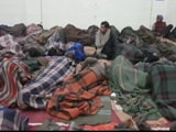 Videos : दिल्ली : कड़ाके की ठंड में खुले आसमान के नीचे सोने को मजबूर लोग