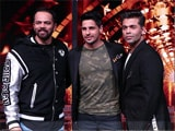 Video : Sidharth Malhotra With KJo & Rohit Shetty On <i>India's Next Superstars</i>