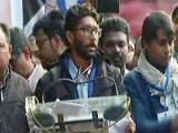 "Video : ""Not Love Jihad, We're Pyaar Ishq Guys"": Jignesh Mevani At Delhi Rally"