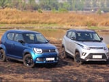 Maruti Suzuki Ignis vs Mahindra KUV100 NXT Comparison Review