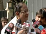 "Video : ""Comedy Of Errors"": P Chidambaram After Raids At His Chennai, Delhi Homes"