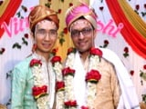 "Video : Indian Techie Marries Gay Partner, Says ""Need To Claim Our Culture Back"""