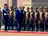 Video: Benjamin Netanyahu Gets Ceremonial Welcome, PM Modi Present