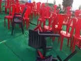 Video : Youngsters Claiming To Be Karni Sena Members Disrupt School Event