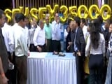 Video : Sensex Conquers 35,000, Nifty Hits 10,800 As Records Tumble