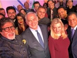 Video : In Mumbai, An Oscars-Style Selfie For Israel PM Taken By Amitabh Bachchan