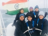 Video : Indian Navy's All-Woman Crew Crosses Roughest Stretch Of Water On Earth