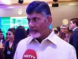 "Video : ""This Is India's Davos"": Chandrababu Naidu"