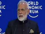 Video : PM Modi Addresses World Leaders, CEOs At Davos