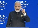 Video : Prime Minister Modi Scores An Ace In Davos On Climate Change