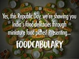 Checkout This Totally Desi Foodabulary With Miniature Food Plates!