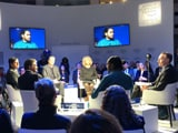 Video : World Economic Forum Debate: Stepping Up Climate Action