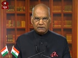 Video : In President Kovind's Address, A Veiled Message For the Karni Sena
