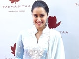 Video: Shraddha Kapoor Launches Padmini Kolhapure's Label