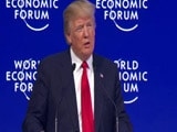 Video : US Once Again Experiencing Strong Economic Growth: Donald Trump At Davos