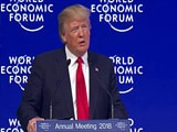 Video : America First Doesn't Mean America Alone, Says Trump At Davos