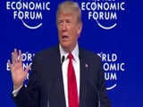 "Video : ""Must Replace Current Immigration System"": Donald Trump In Davos"