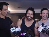 Video : Actors Of JP Dutta's <i>Paltan</i> Party Before Leaving For Chandigarh