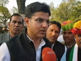 Video: Bypolls Win A Gift To Rahul Gandhi From People Of Rajasthan: Sachin Pilot