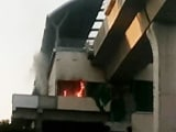 Video : Fire Breaks Out At Hitech City Station Of Newly Built Hyderabad Metro