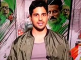 Video : 'Want To Act With Deepika Padukone,' Says Sidharth Malhotra