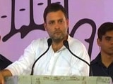 Video: PM Drives Looking In Rear-View Mirror, Will Cause Accidents: Rahul Gandhi