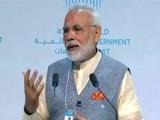 Video : PM Modi Addresses World Government Summit In Dubai
