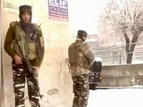 Video : Soldier Dead In Srinagar Encounter, Terrorists Tried To Enter CRPF Camp