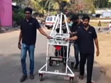 Video : In Trial Run, Manhole-Cleaning Robot Replaces Humans In Kerala