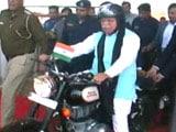 Videos : जींद में अमित शाह की मेगा बाइक रैली