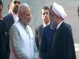 Video : Iranian President Hassan Rouhani's Statement After Ceremonial Welcome In Delhi