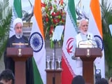 Video : India-Iran Sign 9 Agreements, Focus On Chabahar Port