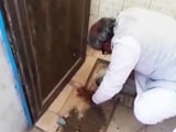 Video : Madhya Pradesh Lawmaker Unclogs School Toilet With Bare Hands