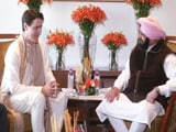 Video : Canadian PM Justin Trudeau Meets Punjab Chief Minister