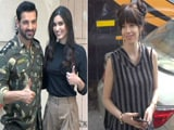 Video : ​​Celeb Spotting! John Abraham, Diana Penty & Kalki Koechlin At Mehboob Studios
