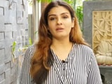 Video : Sridevi's Humility Was Endearing: Raveena Tandon