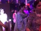Video : Watch: At Dubai Wedding, Dancing Sridevi Hugged Boney Kapoor