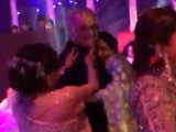 Video : Watch: At Dubai Wedding, Dancing Sridevi Hugged Boney Kapoor