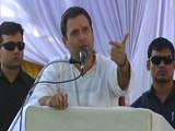 Video : Why 'Chowkidar' Is Silent: Rahul Gandhi Attacks PM Modi On Bank Frauds
