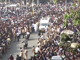 Video: Sridevi Cremated With State Honours, Thousands Pay Last Respects