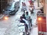 Video : Caught On Camera: Man Stabbed 50 Times By Gang Of Bikers In Delhi