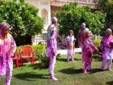Video : जयपुर में होली खेलते विदेशी