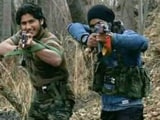 Video : In Video, Lashkar's Naveed Jutt Emerges With Hizbul Terrorists In Kashmir