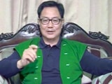 Video : On 'Skip Dalai Lama Events' Report, Kiren Rijiju Declines Comment