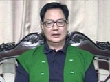"Video : Ahead Of Northeast Counting, Kiren Rijiju Sees ""New Political Landscape"""
