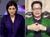 Video : Exclusive: BJP Confident Of Sweeping The Northeast, Kiren Rijiju Tells NDTV
