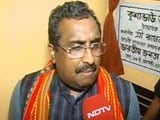 Video: No Prospects For Congress In Northeast, Except In Meghalaya: Ram Madhav