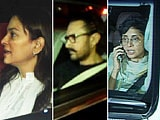 Video : Aamir Khan, Kiran Rao & Juhi Chawla Offer Condolences To Sridevi's Family
