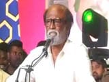 Video : Rajinikanth Delivers First Speech After Political Plunge, Huge Crowd Present