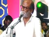 "Video : ""There Is Vacuum In Tamil Nadu Politics, So I Have Come In"": Rajinikanth"
